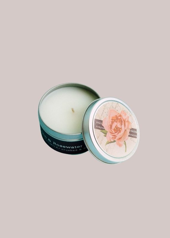 TOYKO MILK Gin & Rosewater Travel Candles