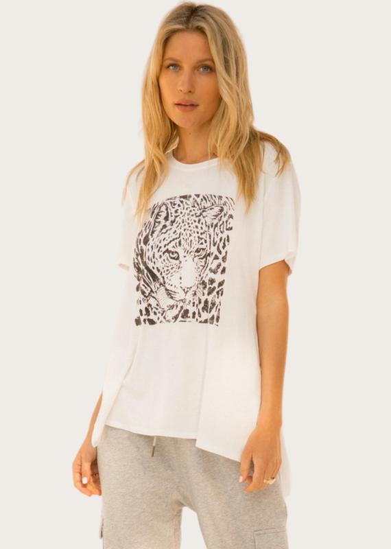 HEM & THREAD Leopard Print Top