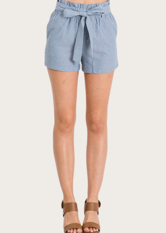 HAVE Linen Shorts Navy