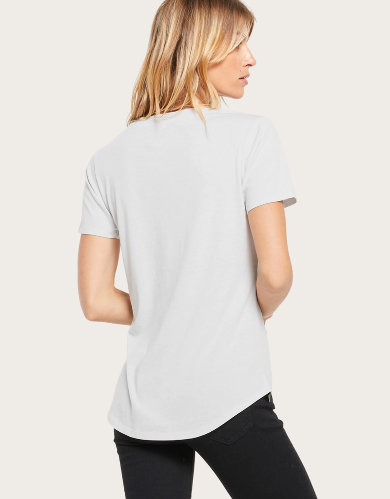 Z SUPPLY The Pocket Tee Drizzle Grey