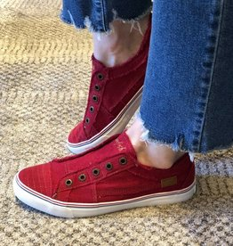 BLOWFISH Play Red Canvas Sneaker