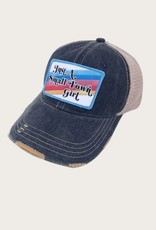 JUDITH MARCH Small Town Girl Rainbow Patch Hat