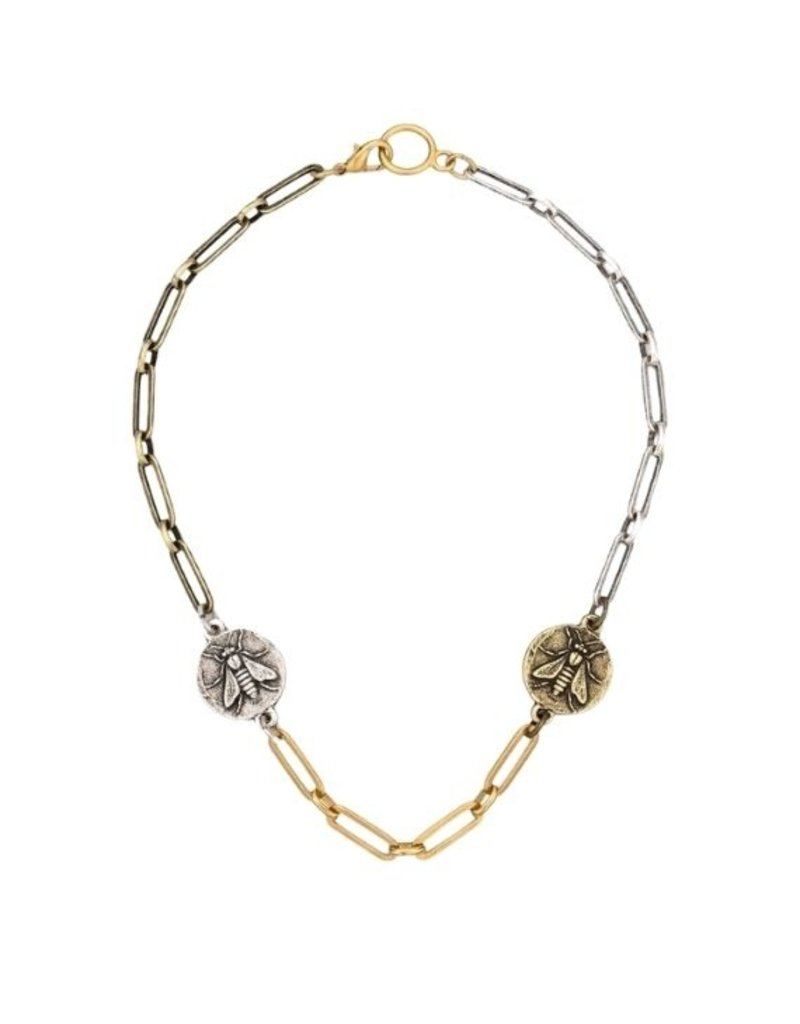 FRENCH KANDE Convertible Choker and Wrap Bracelet