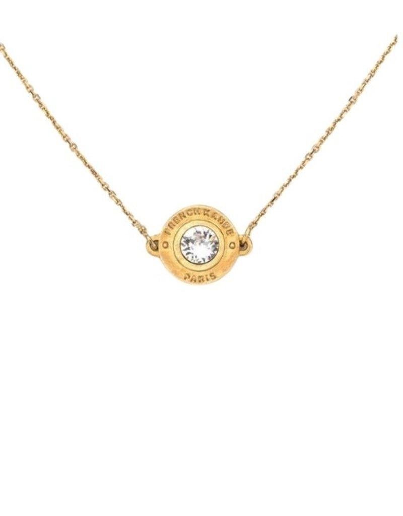 FRENCH KANDE Swarovski Annecy Necklace Gold