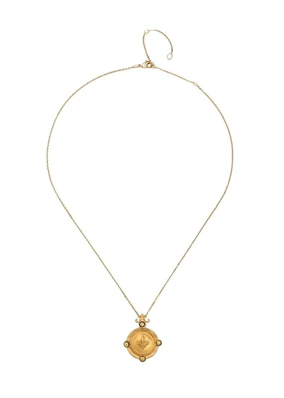 FRENCH KANDE Arles Necklace Gold