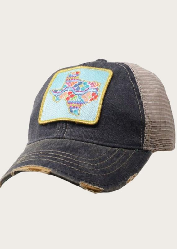 JUDITH MARCH Patchwork Texas Patch Hat