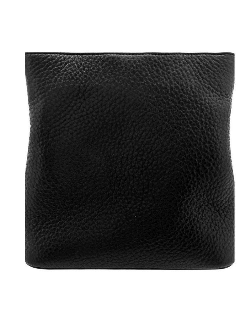 BRIGHTON Blk/Choc Joe Bucket Handbag