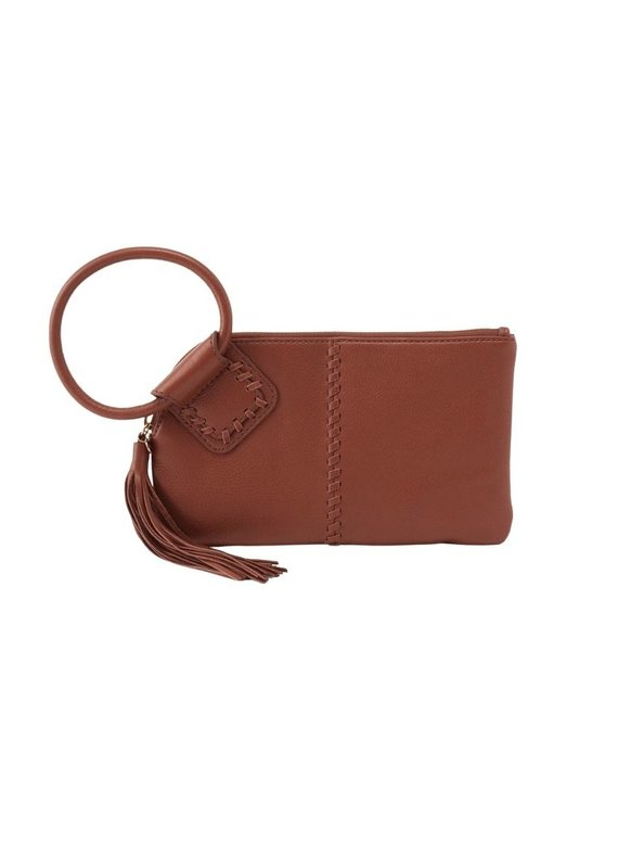 Sable Toffee Wristlet