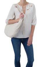 Gardner Powder White Handbag