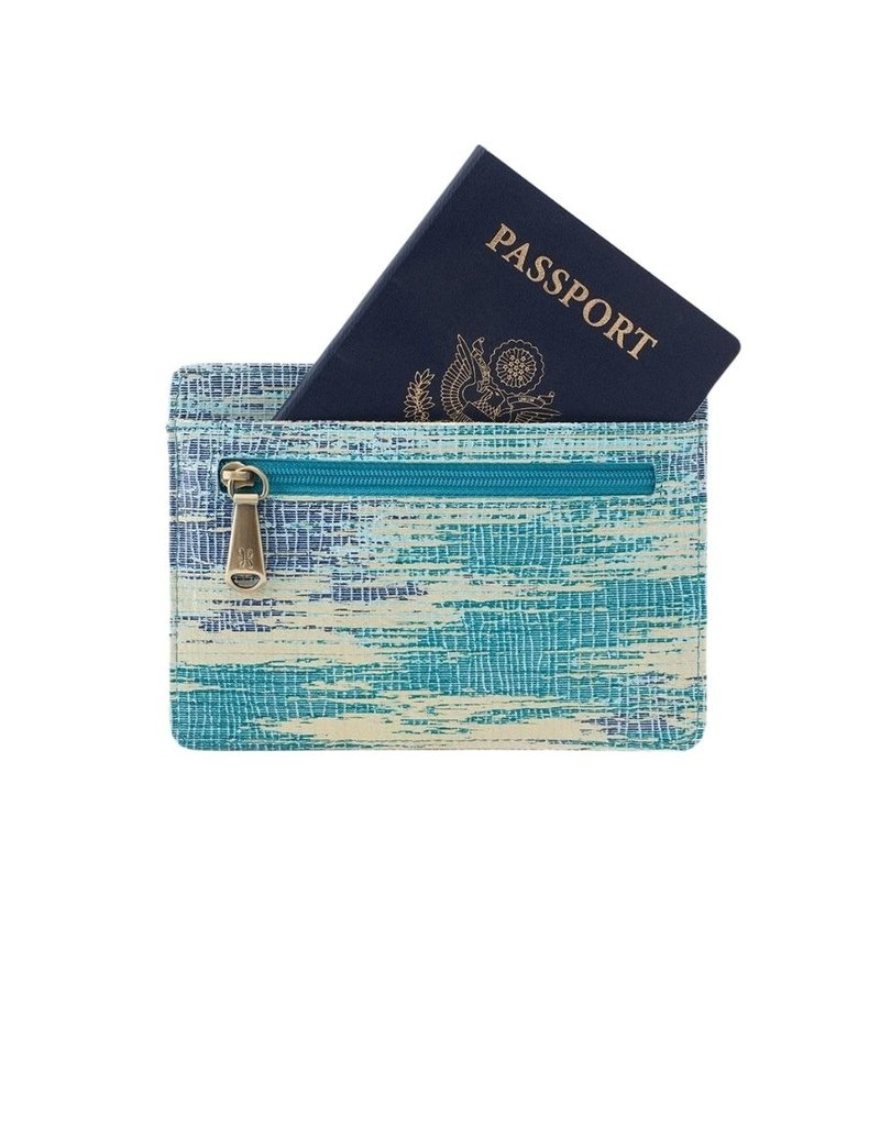 Euro Slide Cracked Glass Pouch
