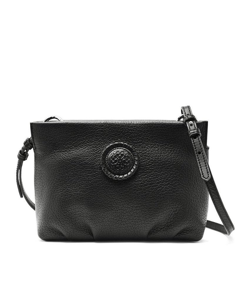 BRIGHTON Blk Folly Cloud Crossbody