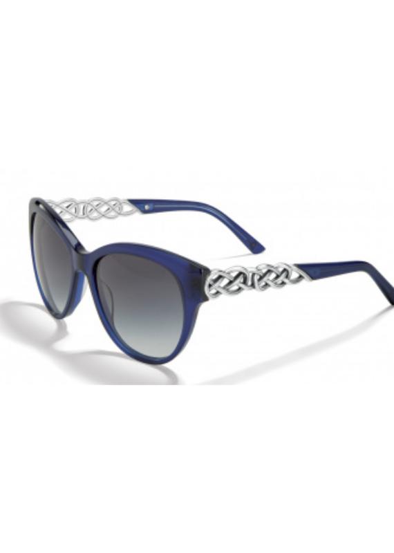 BRIGHTON Interlok Braid Blue Sunglass