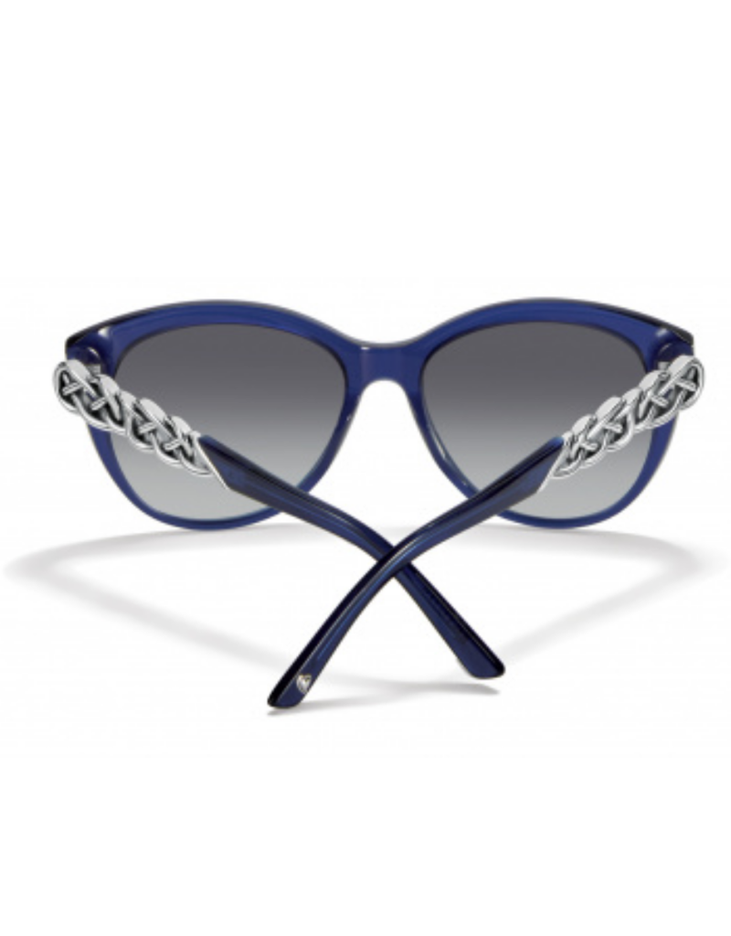 BRIGHTON Interlok Braid Blue Sunglass