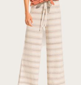 HEM & THREAD Stripe Wide Knit Pants