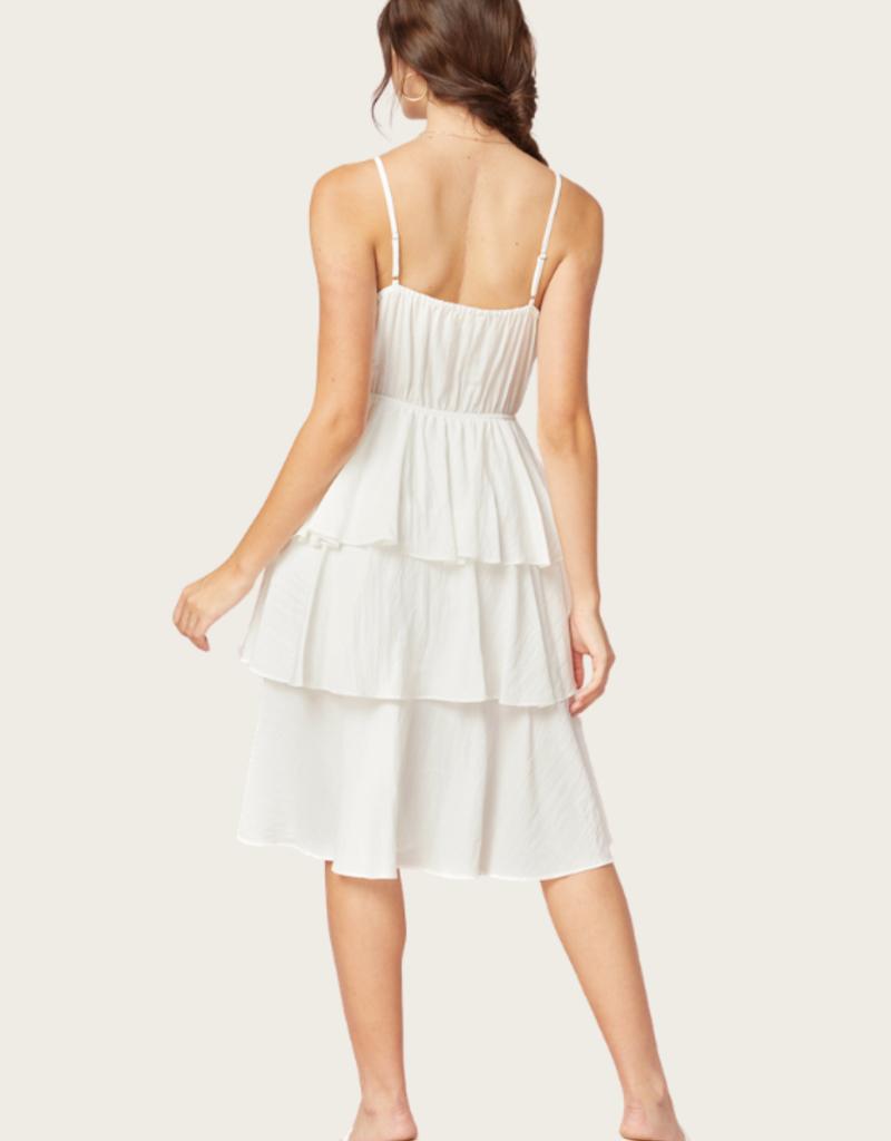 ENTRO Off White Dress