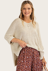 Oatmeal Knittted Sweater