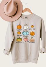 OLIVE & IVORY Pumpkin Chart