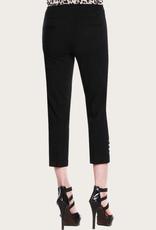 SLIM-SATION Black Crop Pant