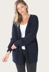 ZENANA Navy Cardigan With Pockets