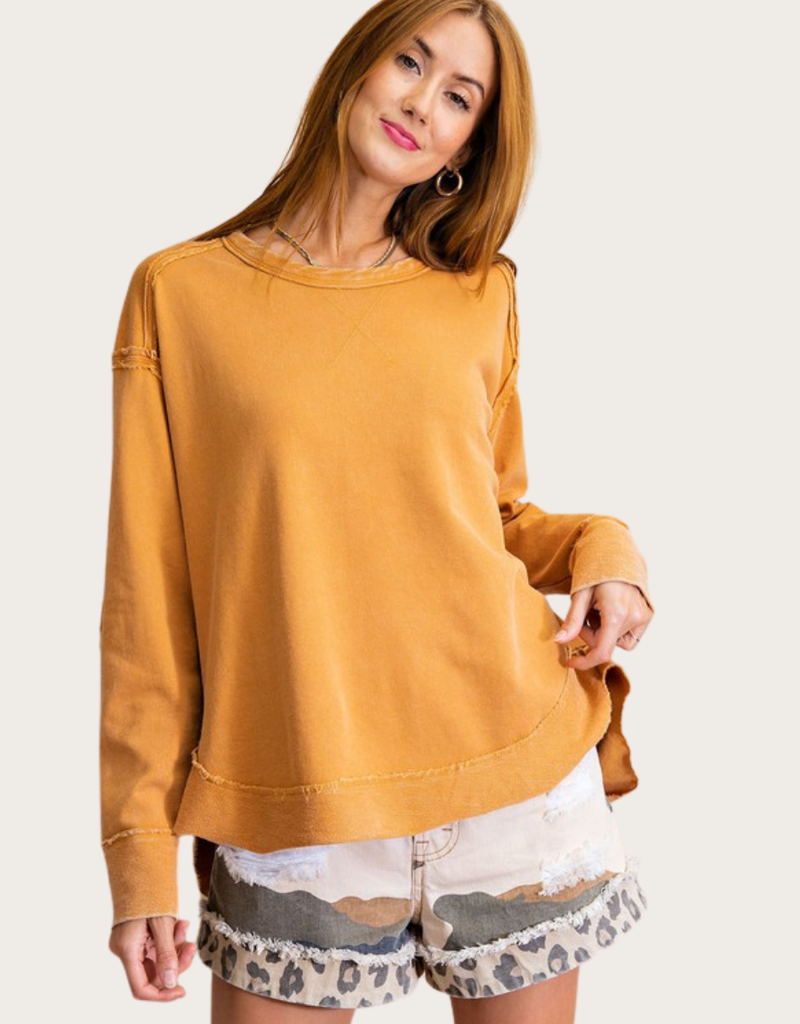 Camel Mineral Washed Terry
