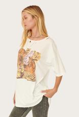 PROMESA Ivory Tiger Print Top
