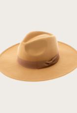 QUEENS Camel Panama Hat