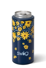 SWIG Lazy Daisy Skinny Can Cooler (12 oz)