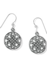 BRIGHTON Interlok Medallion French Wire Earring