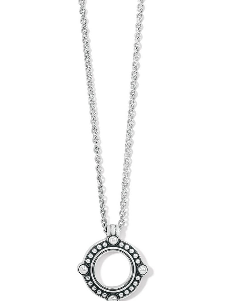 BRIGHTON Pretty Tough Open Ring Necklace
