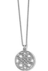 BRIGHTON Interlok Medallion Necklace