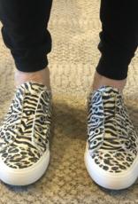 BLOWFISH Play Creme City Kitty Canva/Zebra