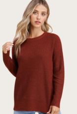 STACCATO Copper LS Crew Neck Sweater