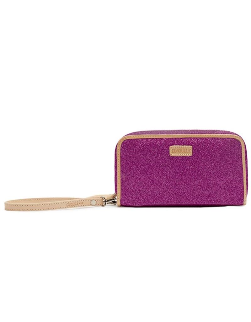 CONSUELA Wristlet Wallet Berry