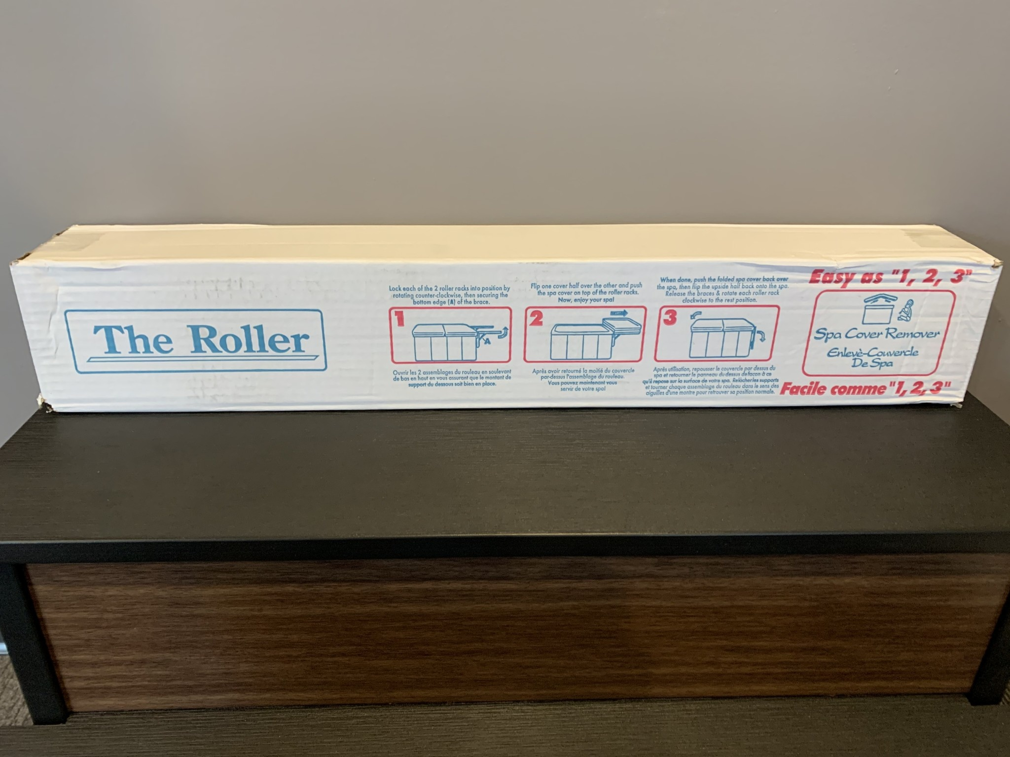 Roller Spa Cover Remover