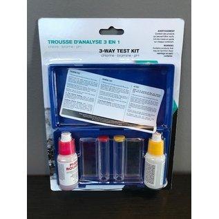 (DC) 3-Way Test Kit (OTO, Chlorine/Bromine & ph), Boxed