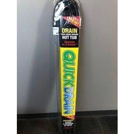 Quickdrain QuickDrain Spa Drain Wand - Drains 10 to 12 Gallons Per Minu