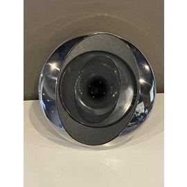6541-171 Jacuzzi® Jet FX2 w/Stainless Steel Escutcheon 2015+ Drk Gray