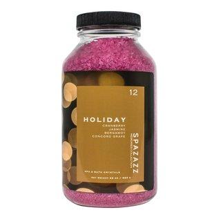Spazazz 22OZ CRYSTALS - Memories Holiday - Cranberry & Bergamot