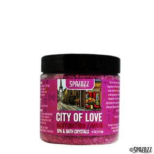Spazazz 4OZ CRYSTALS - Destinations - Paris City of Love
