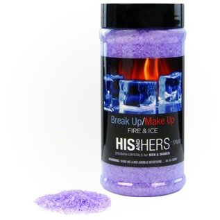 Spazazz 17OZ CRYSTALS - His & Hers Novelty - Breakup/Makeup