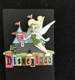 DISNEY PIN ~ 2008 ~ RETRO LANDS ~ DISNEYLAND PARK ~ TINKER BELL ~ CASTLE MARQUEE