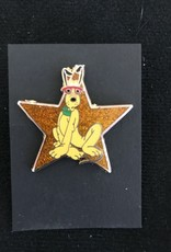 DISNEY SHOPPING ~ PLUTO ~ GOLD STAR SERIES PIN 52587 LE 1000 '07 MICKEY MOUSE
