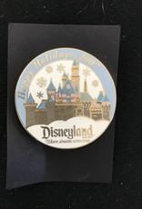 Disney DLR - Cast 2007 Happy Holidays Sleeping Beauty Castle Pin