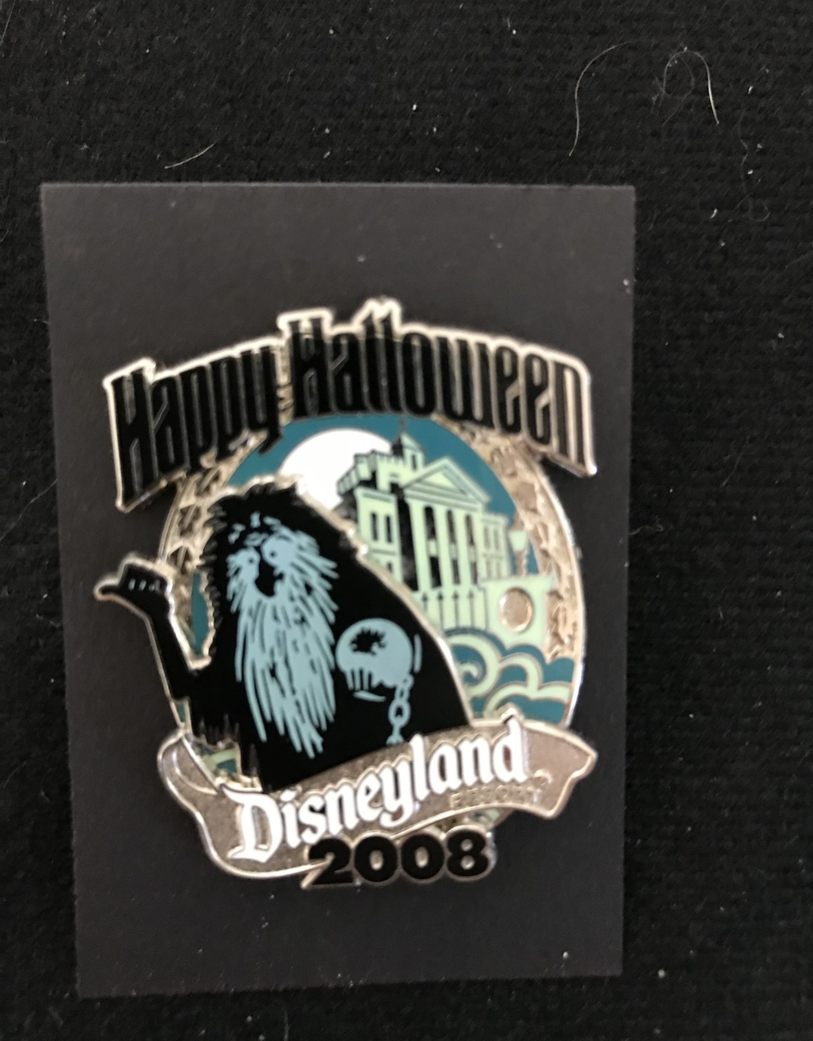 DISNEY PIN DLR CAST EXCLUSIVE HAPPY HALLOWEEN 2008 GUS LIMITED EDITION