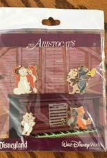 The Aristocats Disney World 4 pinset