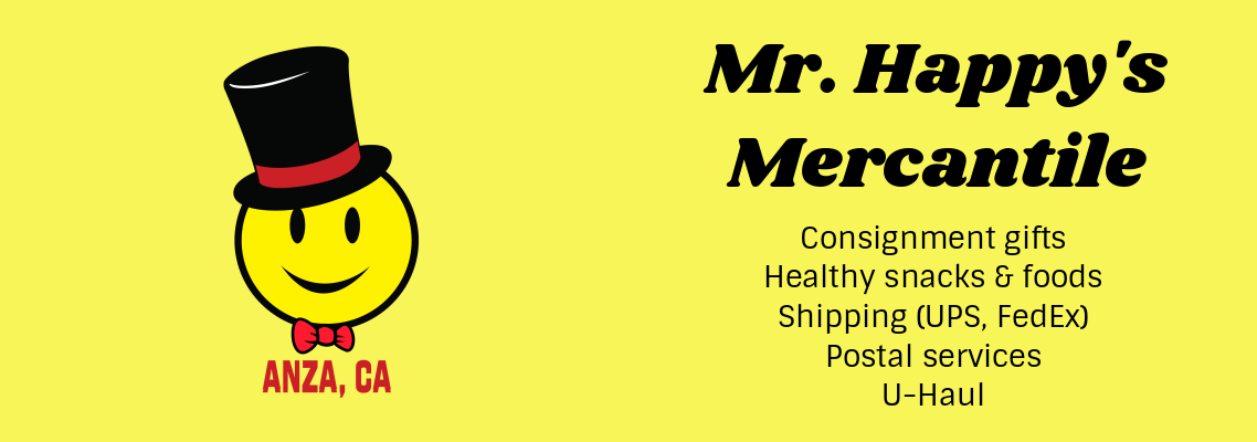 Mr. Happy's Mercantile - Gifts, Snacks, Shipping and More