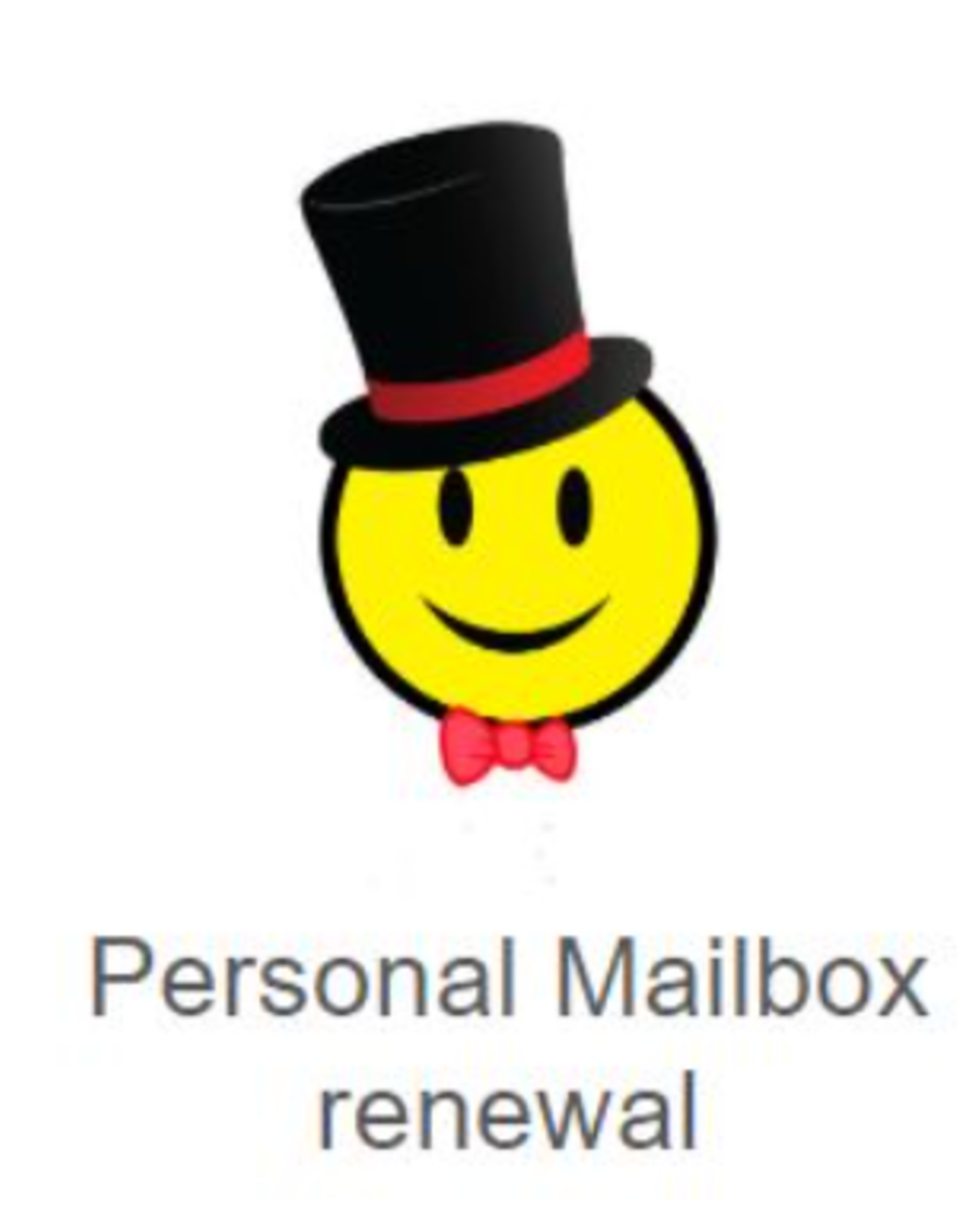 Postal Services - Mailbox 12 months