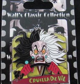 Walt's classic collection 101 Ddalmations Cruella de Vil LE DISNEY PIN 73763