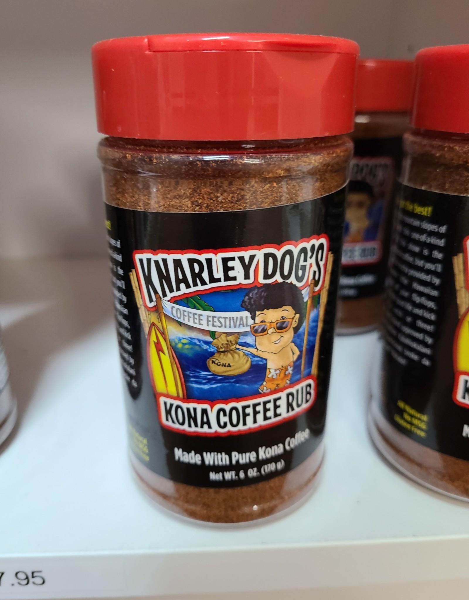 Knarley Dog's Kona Coffee Seasoning