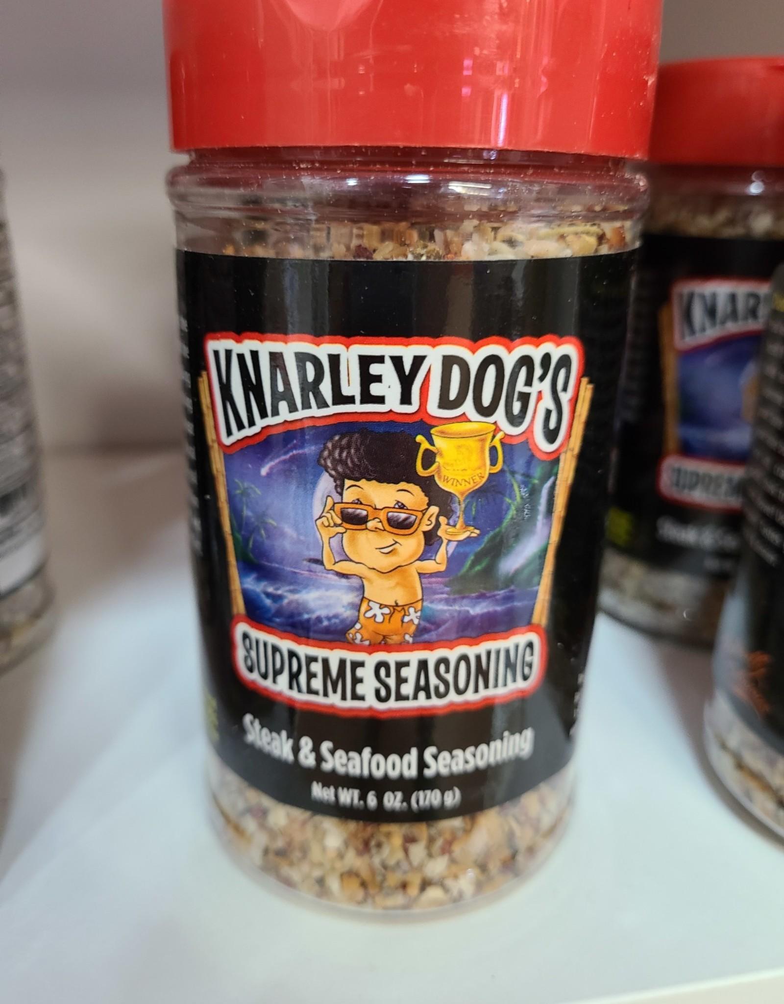 Knarley Dog's Supreme Seasoning Steak & Seafood Seasoning